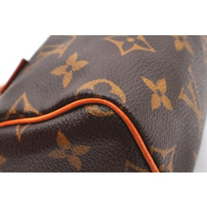 Louis Vuitton Monogram Mini Speedy Hand Bag M41534 LV A2670