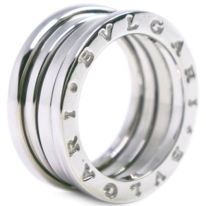 BVLGARI 18k white gold Bzero1 Ring NST-328