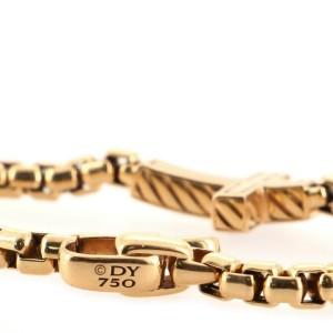 David Yurman Pavé Cross Bracelet 18K Rose Gold and Diamonds