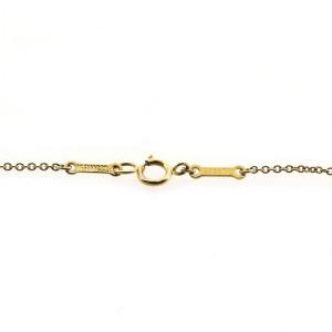 Tiffany & Co. Elsa Peretti Diamonds By The Yard Pendant Necklace 18K Yellow Gold and Diamond 0.25 CT
