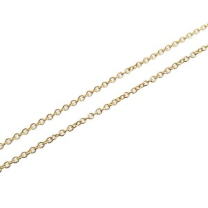 Tiffany & Co. 1P Diamond & 18k Yellow Gold By the Yard Necklace