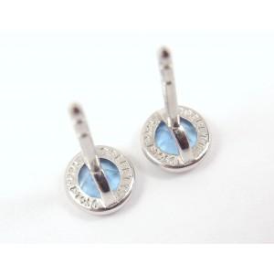 Tiffany & Co. Elsa Peretti Platinum with 0.70ct. Aquamarine Earrings