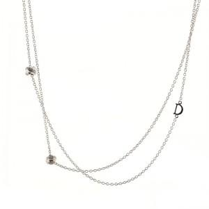 Damiani Gomitolo Necklace 18K White Gold with Diamonds