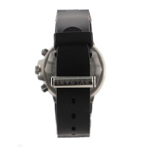 Bvlgari Diagono Scuba Chronograph Automatic Watch Stainless Steel and Rubber 38