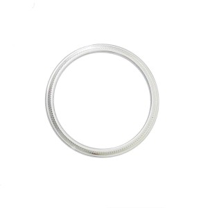 TIFFANY & CO Platinum Milgrain Ring