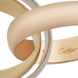 Cartier Trinity Ring 18K Gold Size 6.75