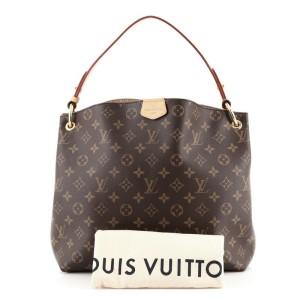 Louis Vuitton Graceful Handbag Monogram Canvas PM