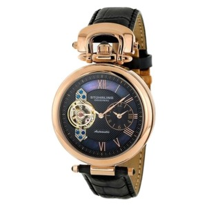 Stuhrling Special Reserve Emperor Stainless Steel & Leather 41mm Watch