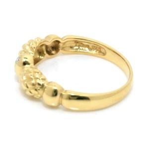 Christian Dior 18k yellow gold Diamond Ring