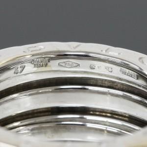 Bulgari Bvlgari B.ZERO1 3-band Ring in 18k White Gold US4