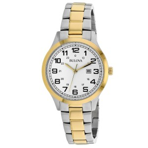 Bulova Dress 98M128 34mm Womens Watch