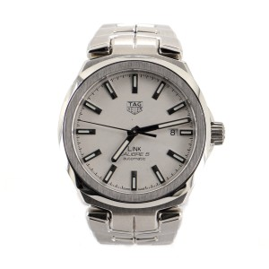 Tag Heuer Link Calibre 5 Automatic Watch Stainless Steel 41