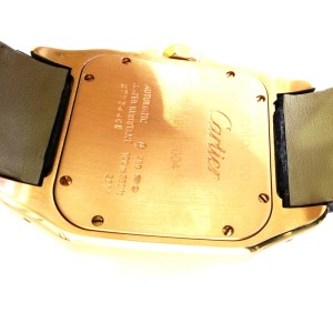 Cartier Santos 100 Yellow Gold W20112Y1 38mm Watch