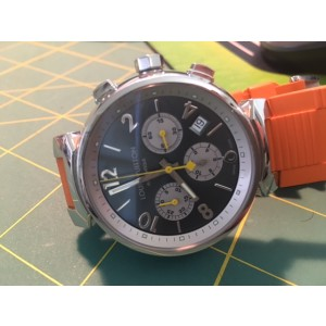 Louis Vuitton Q1120 Stainless Steel Mens Watch