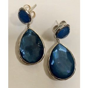 Ippolita Two Stone Drop Earrings