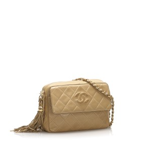 Classic CC Lambskin Leather Crossbody Bag