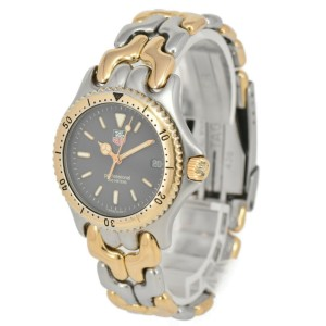 TAG HEUER S/el Professional 200M S95.213 SS/GP Quartz Boy's Watch