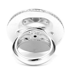 Piaget 18K White Gold Diamonds Ring Size 7