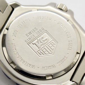 TAG Heuer Formula1 Stainless Steel Professional 200M Date Quartz 34.5mm Watch