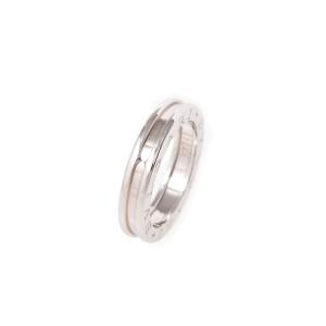 Bulgari B-Zero 1 18K White Gold Ring Size 8.25
