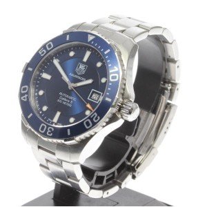 Tag Heuer Aquaracer WAN2111 Stainless Steel Automatic 42mm Mens Watch