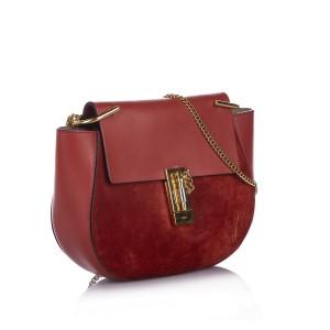 Drew Suede Crossbody Bag