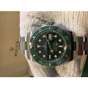 Rolex Submariner Green Anniversary Edition Stainless Steel 40mm Watch