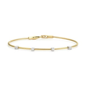 I.Reiss 14K Yellow Gold 0.2 Diamond Bracelet