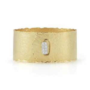 I. Reiss BIR462Y 14k Yellow Gold diamonds0.45 H-SI Diamonds Bracelet