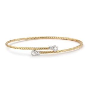 I. Reiss BIR468Y 14k Yellow Gold diamonds0.15 H-SI Diamonds Bracelet