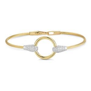 I. Reiss BIR473Y 14k Yellow Gold diamonds0.3 H-SI Diamonds Bracelet