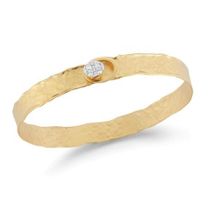 I.Reiss 14K Yellow Gold 0.22 Diamond Bracelet