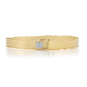 I.Reiss 14K Yellow Gold 0.1 Diamond Bracelet