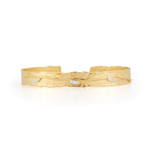 I.Reiss 14K Yellow Gold 0.07 Diamond Bracelet