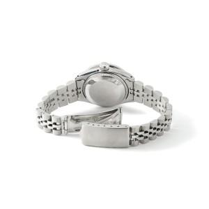 Rolex Datejust Steel 26mm Jubilee Watch Linen White 1.3CT Diamond Bezel & Dial