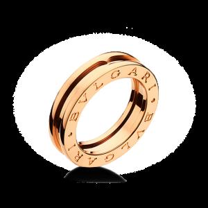 Bvlgari Bulgari B. Zero 1 18K Rose Gold 1 Band Ring