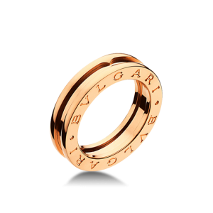 Bvlgari Bulgari B. Zero 1 18K Rose Gold 1 Band Ring AN852422