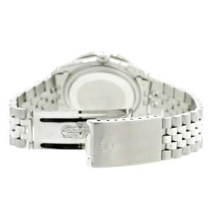 Rolex Datejust 36MM Steel Watch with 3.35CT Diamond Bezel/Blue Diamond Arabic Dial