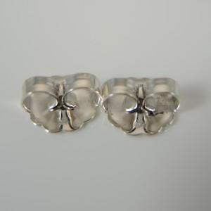 David Yurman Sterling Silver Pave Diamond Oval Link Earrings