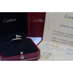 Cartier 18K Yellow Gold Just Un Clou Ring Sz 5.75