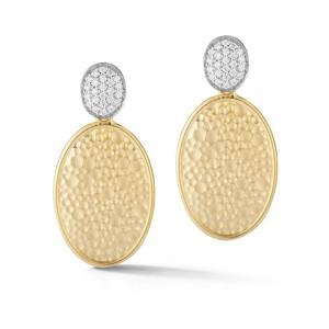 I. Reiss ER3191Y 14k Yellow Gold diamonds0.36 H-SI Diamonds Earrings