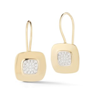 I.Reiss Polish-finished Square Earrings