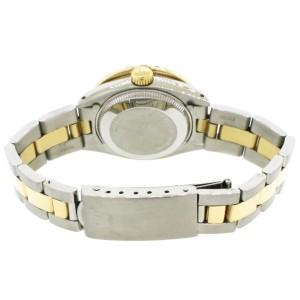 Rolex Datejust 26mm Yellow Gold/SS Jubilee Watch w/White MOP Diamond Dial & Bezel