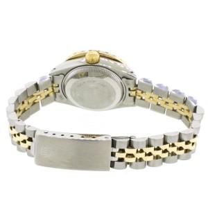 Rolex Datejust 26mm Yellow Gold/SS Jubilee Diamond Watch