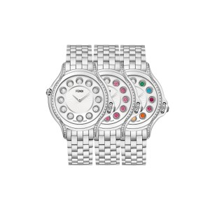 Fendi Crazy Carats White 38 mm F107034000C0T05