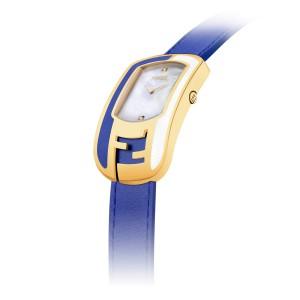 Fendi Timepieces Blue 39 mm F105010801