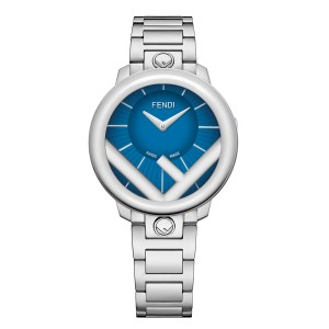 Fendi Timepieces Blue 36 mm F711033000