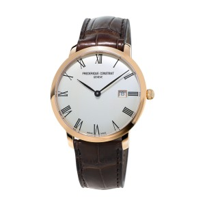 Frederique Constant Slimline Auto FC-306MR4S4 40mm Mens Watch
