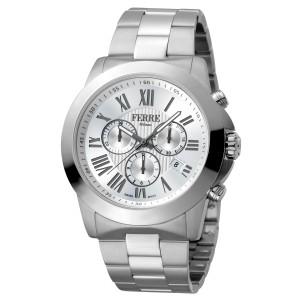 Ferre Milano Silver Silver SS FM1G079M0061 Watch