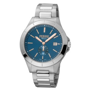 Ferre Milano D. Blue Silver SS FM1G080M0051 Watch
